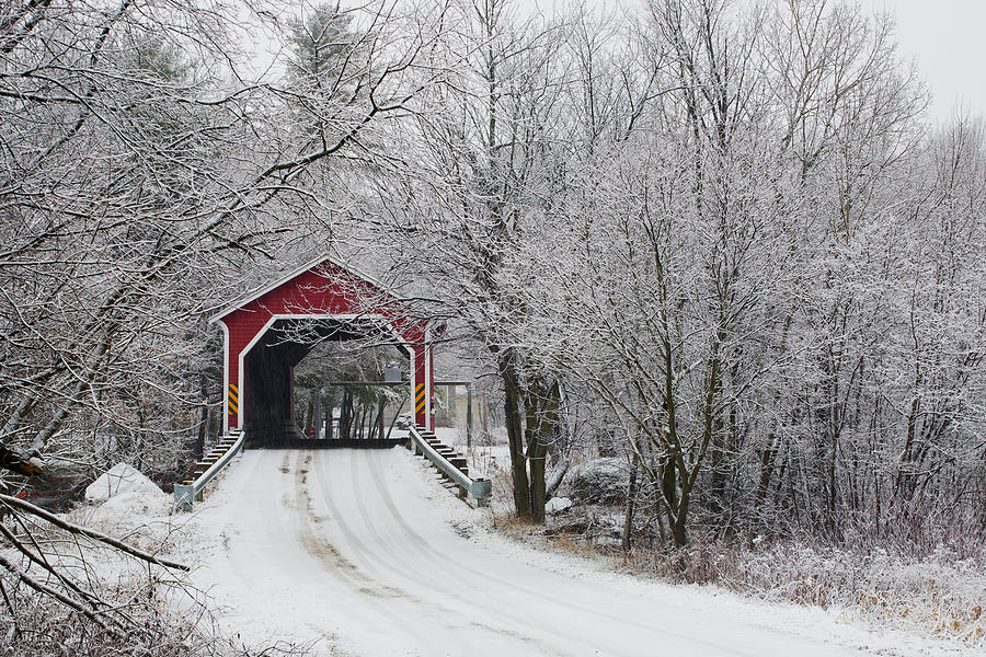 red-covered-bridge-in-the-winter-david-chapman